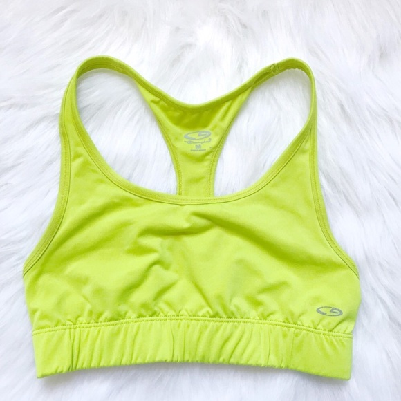 84aaa34a7e505 Champion Other - ☀️SALE! Champion Racerback Neon Green Sports Bra